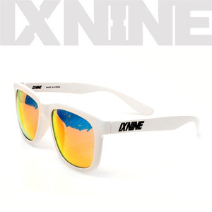 IXNINE SunglassBearWhite Red Ion Polarized