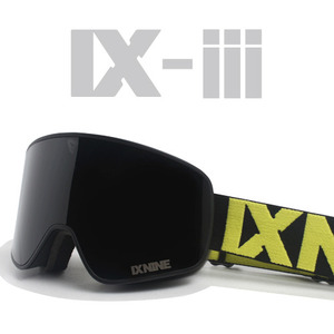 IX-3 NEON BLACK</BR>DARK GREY POLARIZED