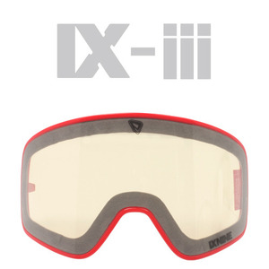 IX-3 G.RED LENS FRAME</BR>CRYSTAL CLEAR