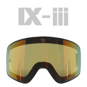 IX-3 G.BLACK LENS FRAME</BR>GREY / RED