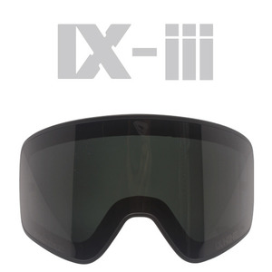 IX-3 MATT BLACK LENS FRAME</BR>DARK GREY POLARIZED